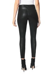Joe's Jeans The Charlie High-Rise Coated Ankle Skinny Jeans
