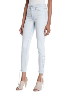 Joe's Jeans The Charlie Lace-Up Skinny Jeans
