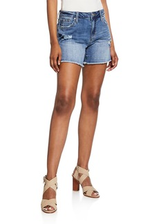 Joe's Jeans The Cut Off Frayed Distressed Shorts