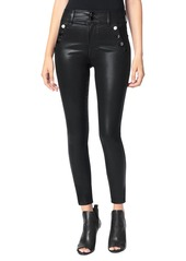 Joe's Jeans The Georgia Ankle Skinny Coated Jeans