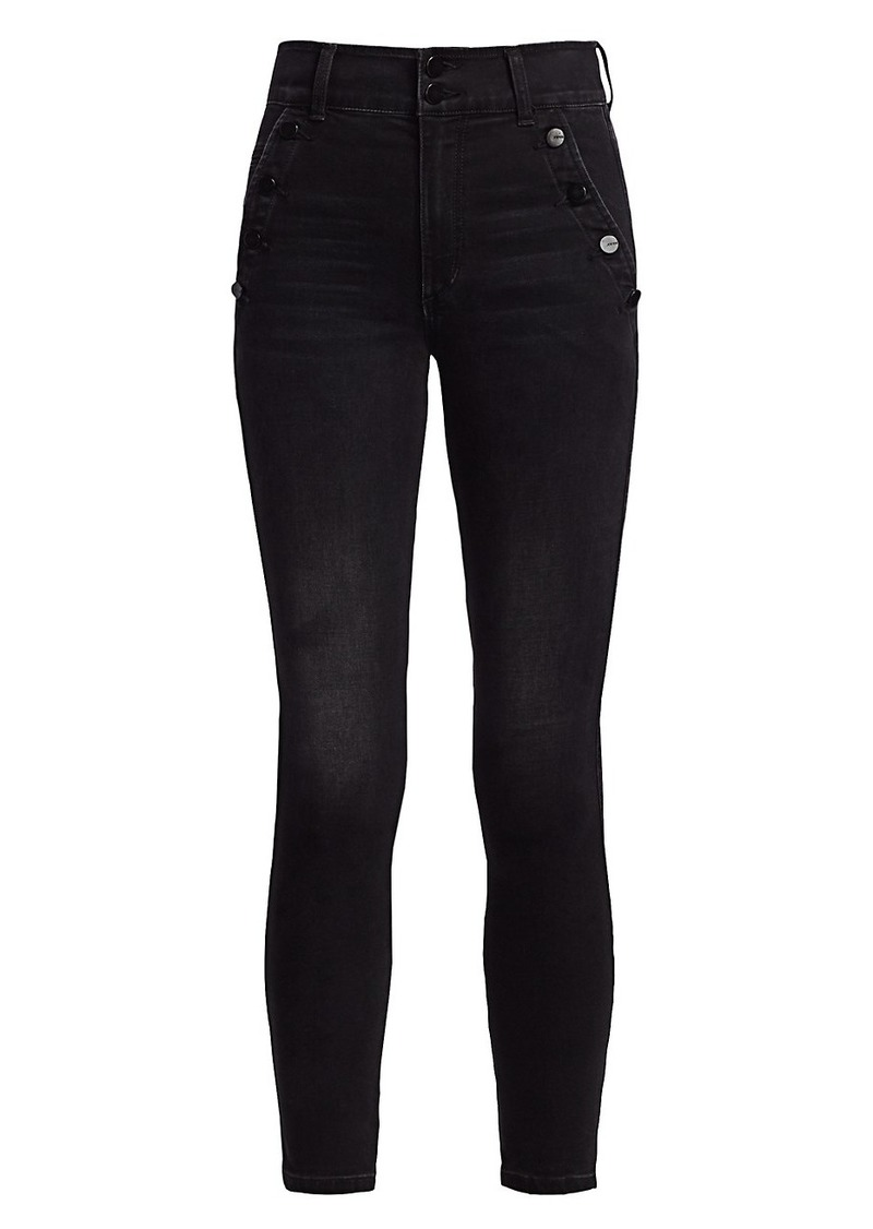 Joe's Jeans The High-Rise Ankle Skinny Jeans