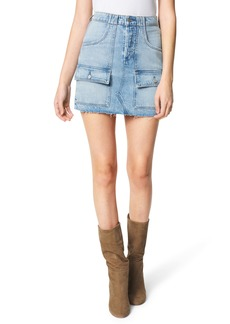 Joe's Jeans The High Waist Denim Utility Miniskirt