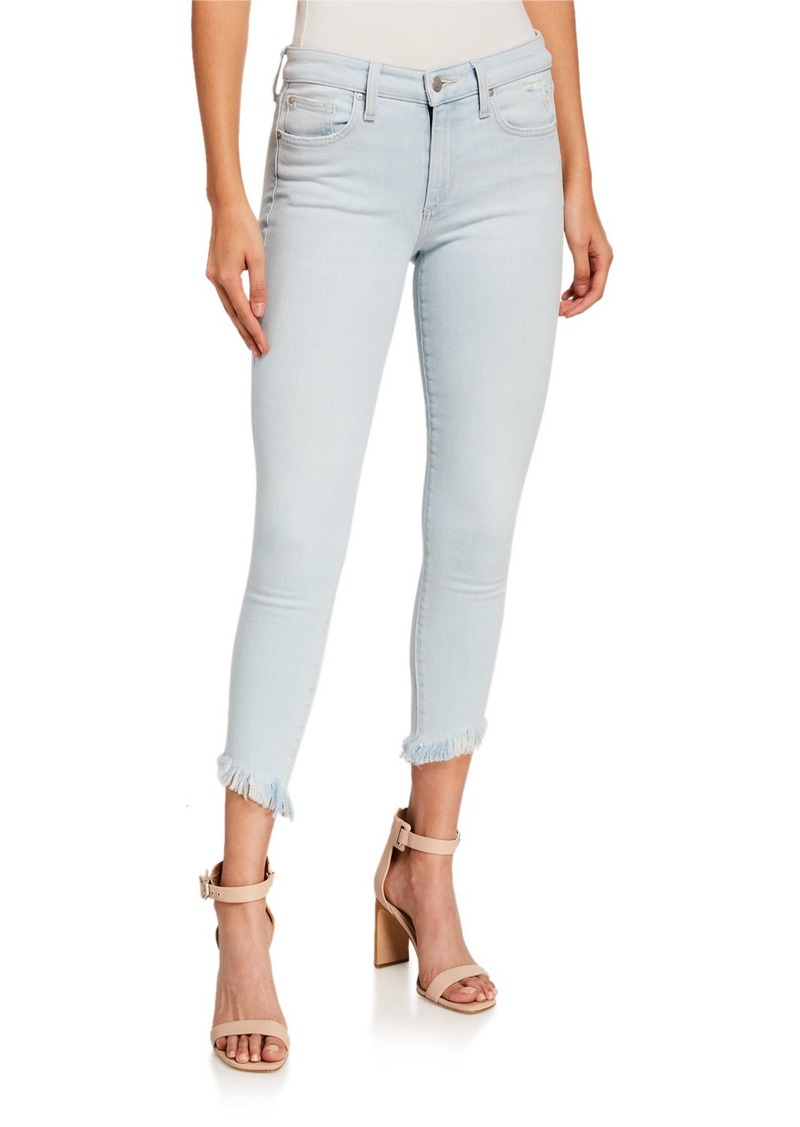 Joe's Jeans The Icon Chew Hem Cropped Jeans