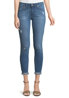 Joe's Jeans The Icon Crop Rolled-Cuff Ankle Jeans