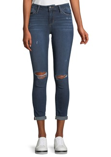 Joe's Jeans The Icon Distressed Rolled-Cuff Ankle Jeans