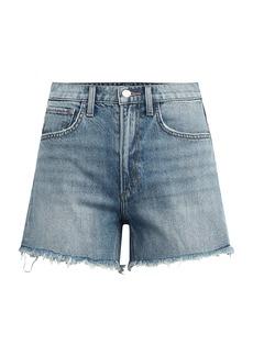 Joe's Jeans The Sadie Frayed Denim Shorts