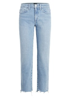 Joe's Jeans The Scout Raw-Edge Slim Boyfriend Jeans
