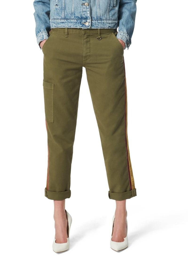 Joe's Jeans The Trouser Ankle Velvet Stripe Jeans