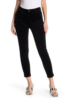 Joe's Jeans Velvet High Rise Ankle Jeans