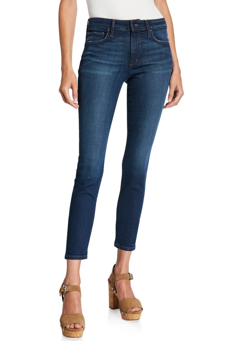 Joe's Jeans Vivica Mid-Rise Skinny Crop Jeans