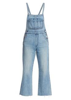 Joe's Jeans Wide-Leg Denim Overalls