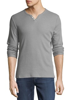 Joe's Jeans Wintz Long-Sleeve Henley Tee