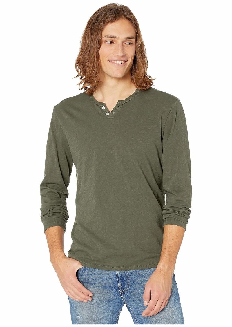 Joe's Jeans Wintz Long Sleeve Slub Henley