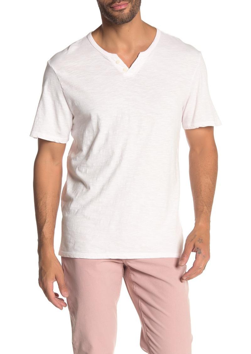 Joe's Jeans Wintz Short Sleeve Henley