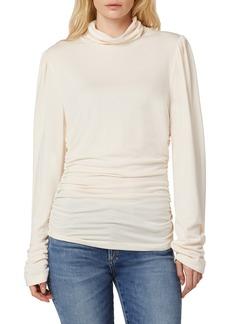 Joe's Jeans Women's Joe's Laurel Ruched Long Sleeve Turtleneck Top