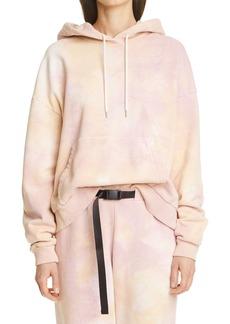 Women's John Elliott Alma Volcano Dye Cotton Hoodie