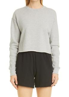 Women's John Elliott Snyder French Terry Crop Sweatshirt
