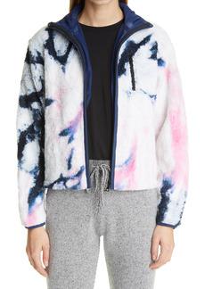 Women's John Elliott Tie Dye Polar Fleece Women'S Zip Jacket
