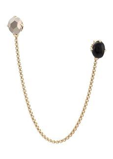 John Hardy Adwoa Aboah 18kt Yellow Gold and Tourmaline Chain Earring