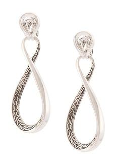 John Hardy Asli link twist earrings