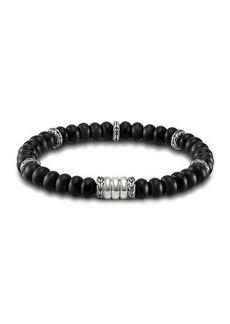 John Hardy Batu Bedeg Men's Beaded Bracelet