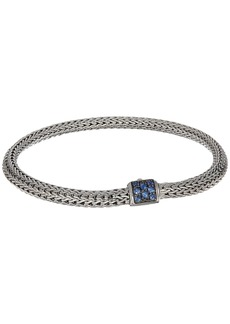 John Hardy Classic Chain 5mm Bracelet with Blue Sapphire