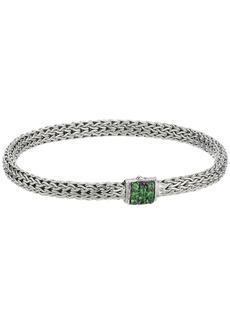 John Hardy Classic Chain 5mm Bracelet with Tsavorite