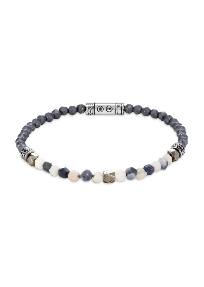 John Hardy Classic Chain Gemstone Beaded Bracelet