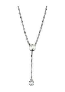 John Hardy Classic Chain Hammered Drop Necklace