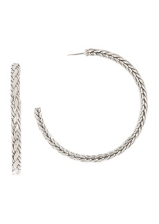 John Hardy Classic Chain Hoop Earrings