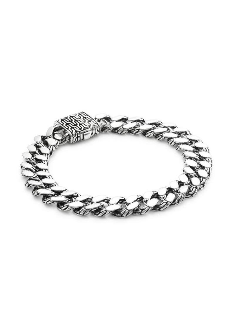 John Hardy Classic Chain Silver Curb-Link Bracelet