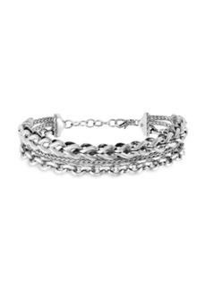 John Hardy Classic Chain Silver Triple Bracelet