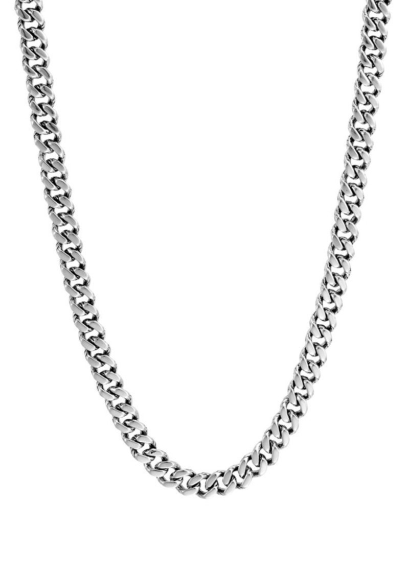 John Hardy Classic Chain Sterling Silver Curb Link Necklace