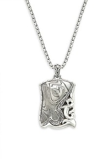 John Hardy Classic Chain Sterling Silver Pendant Necklace