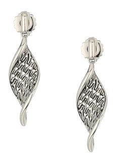 John Hardy Classic Chain Wave Drop Earrings