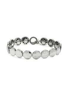 John Hardy Dot Hammered Silver Disc Bracelet