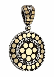 John Hardy Dot Small Round Enhancer Necklace