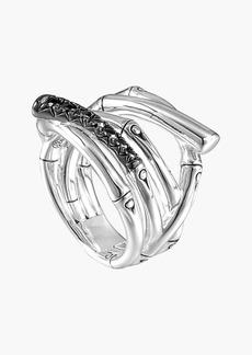 John Hardy 'Bamboo - Lava' Wide Ring