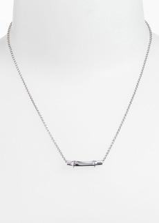 John Hardy 'Bamboo' Slide Pendant Necklace