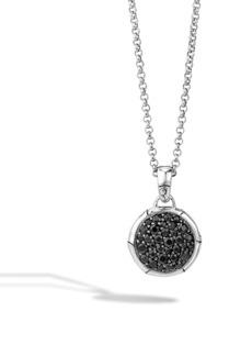 John Hardy 'Bamboo' Small Round Pendant Necklace