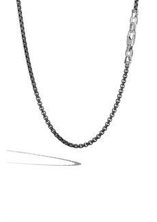 John Hardy Box Chain Men's Sterling Silver Necklace