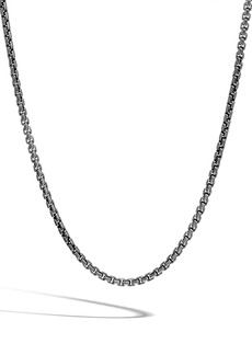John Hardy Men's Classic Box Chain Necklace