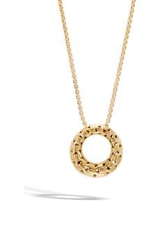 John Hardy Classic Chain 18k Pendant Necklace