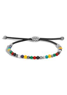 John Hardy Classic Chain Beaded Friendship Bracelet