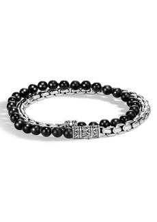 John Hardy Classic Chain Double Wrap Bracelet