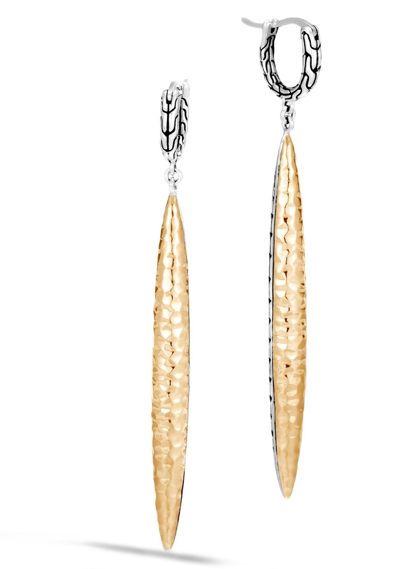 John Hardy Classic Chain Drop Earrings