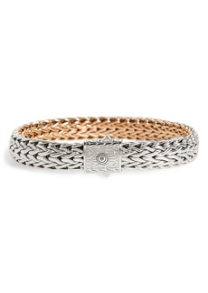 John Hardy Classic Chain Flat Chain Reversible Bracelet
