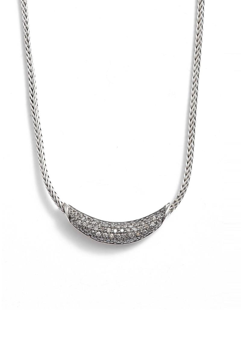 John Hardy Classic Chain Gemstone Necklace