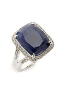 John Hardy Classic Chain Gemstone Ring