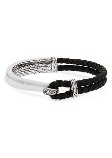 John Hardy Classic Chain Half Cuff Bracelet